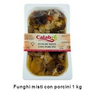 Funghi misti con porcini 1 Kg