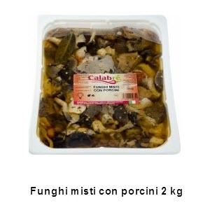 Funghi misti con porcini 2 Kg
