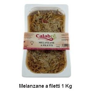 Melanzane a filetti 1 kg