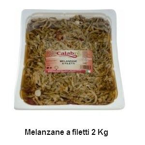 Melanzane a filetti 2 kg