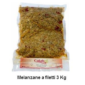 Melanzane a filetti 3 kg