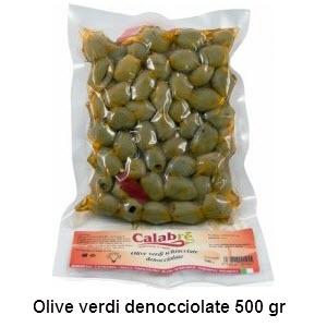 olive verdi denocciolate 500 gr