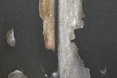 LE FERITE NEL TEMPO, olio su tela
