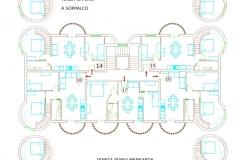 Pianta_piano_mansarda - top floor footprint