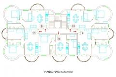 Pianta_piano_secondo - second floor footprint