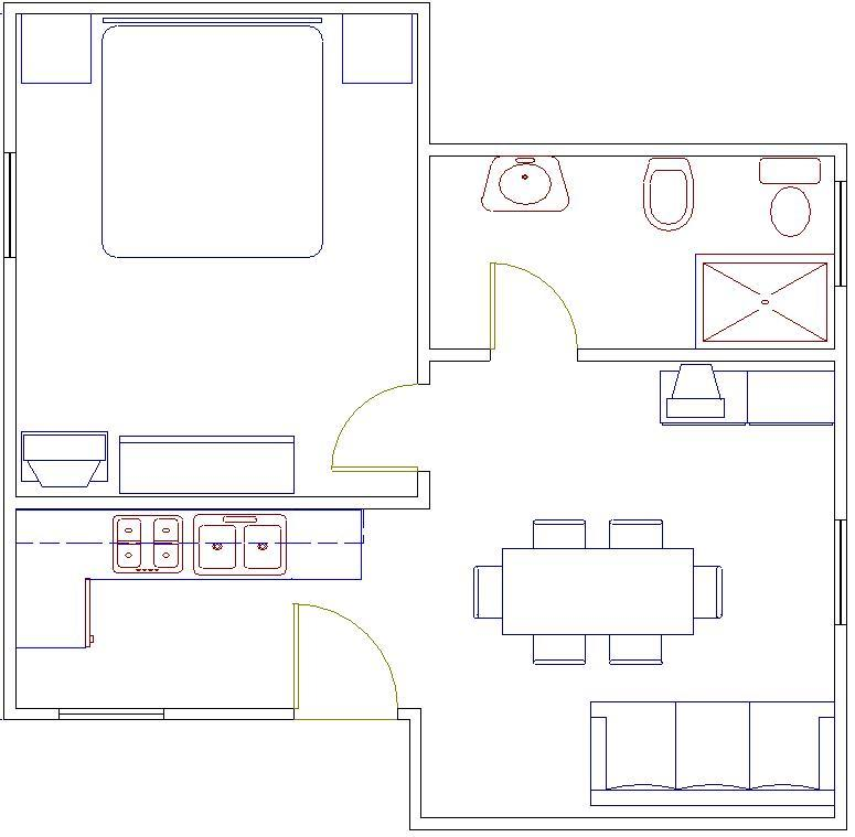 Pianta - Floor plan